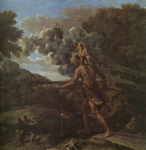 Nicolas Poussin - Blind Orion Searching for the Rising Sun 1658