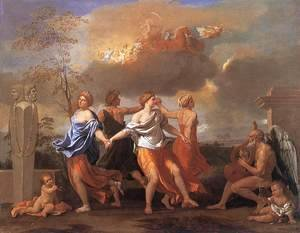 Nicolas Poussin - Dance to the Music of Time c. 1638
