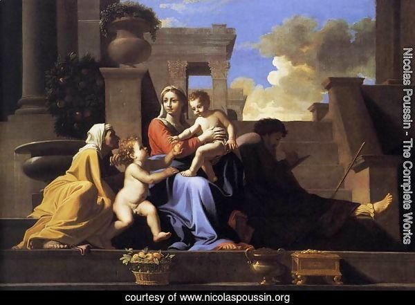Holy Family on the Steps 1648