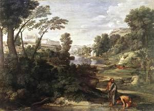 Landscape with Diogenes c. 1647