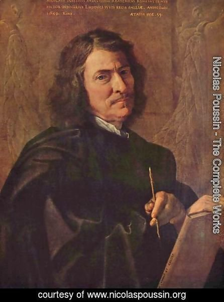 Nicolas Poussin - Self-Portrait 1649