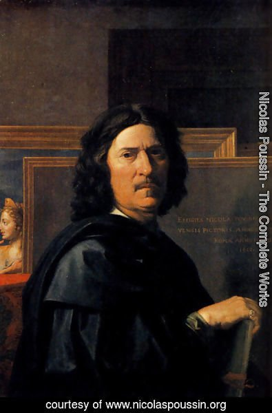 Nicolas Poussin - Self-Portrait 1650