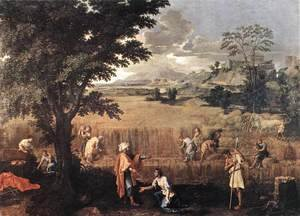 Nicolas Poussin - Summer (Ruth and Boaz) 1660-64