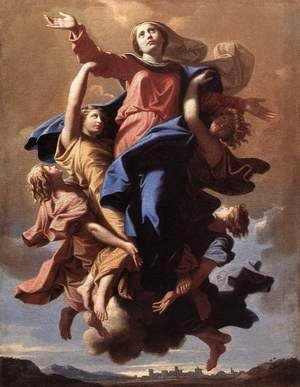 Nicolas Poussin - The Assumption of the Virgin 1650