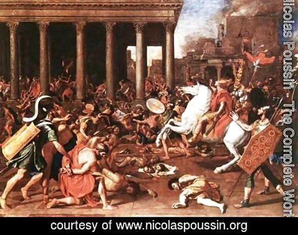 Nicolas Poussin - The Destruction of the Temple at Jerusalem 1637