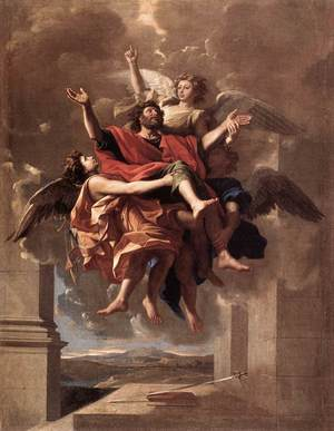 Nicolas Poussin - The Ecstasy of St Paul 1649-50