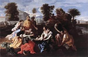 Nicolas Poussin - The Finding of Moses 1651