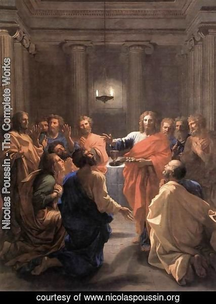 Nicolas Poussin - The Institution of the Eucharist 1640