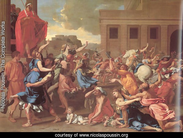 The Rape of the Sabine Women 1634-35