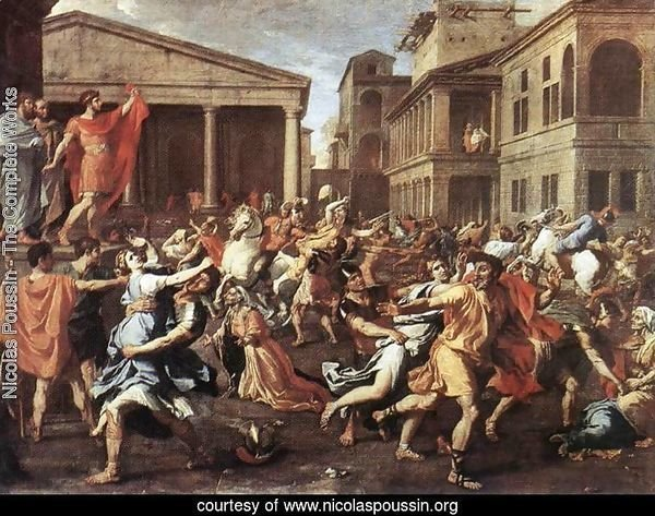 The Rape of the Sabine Women 1637-38