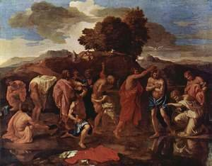 Nicolas Poussin - The Sacrament of Baptism 1642