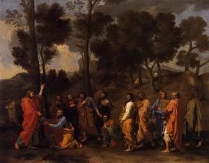 Nicolas Poussin - The Sacrament of Ordination 1636-40