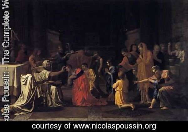 Nicolas Poussin - The Seven Sacraments- Confirmation 1645