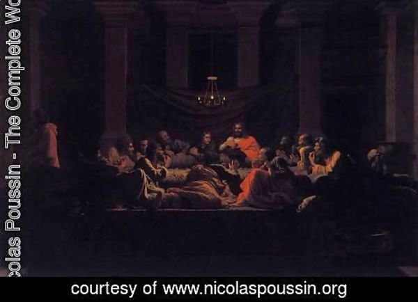 Nicolas Poussin - The Seven Sacraments- Eucharist 1647