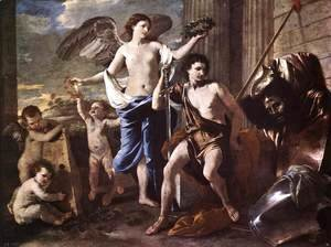 Nicolas Poussin - The Triumph of David 1627-30