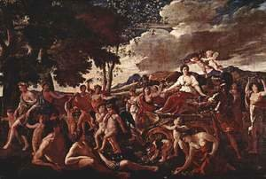 Nicolas Poussin - The Triumph of Flora 1631