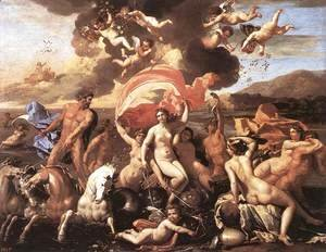 Nicolas Poussin - The Triumph of Neptune 1634