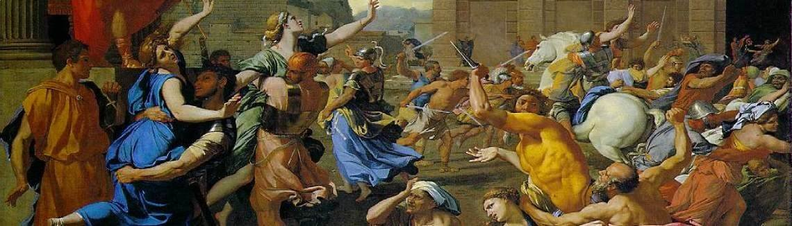 Nicolas Poussin - Rape of the Sabine Women
