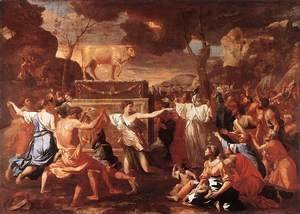 Nicolas Poussin - Adoration of the Golden Calf