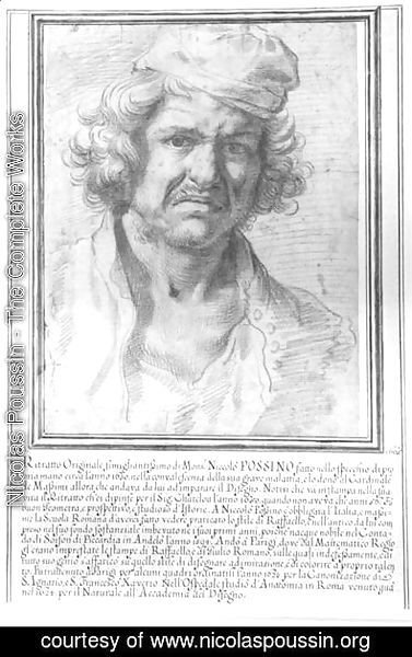 Nicolas Poussin - Self Portrait