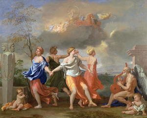 Nicolas Poussin - A Dance to the Music of Time, c.1634-36