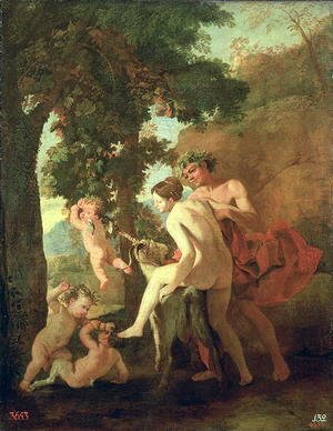 Venus, Faun and Putti, early 1630s