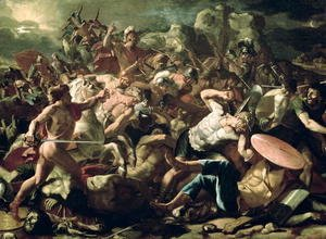 Nicolas Poussin - The Battle