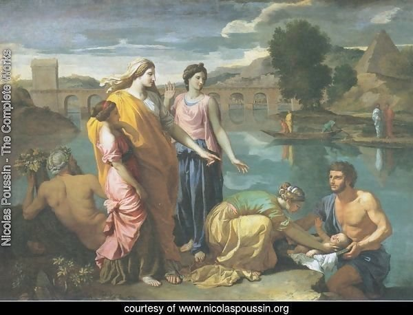 The Finding of Moses, 1638