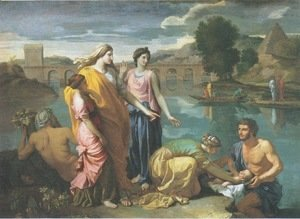Nicolas Poussin - The Finding of Moses, 1638