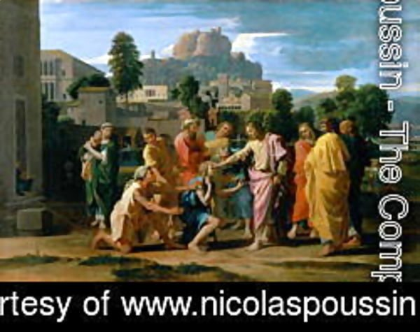 Nicolas Poussin - The Blind of Jericho, or Christ Healing the Blind, 1650