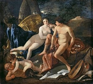 Nicolas Poussin - Venus and Mercury, c.1627-29