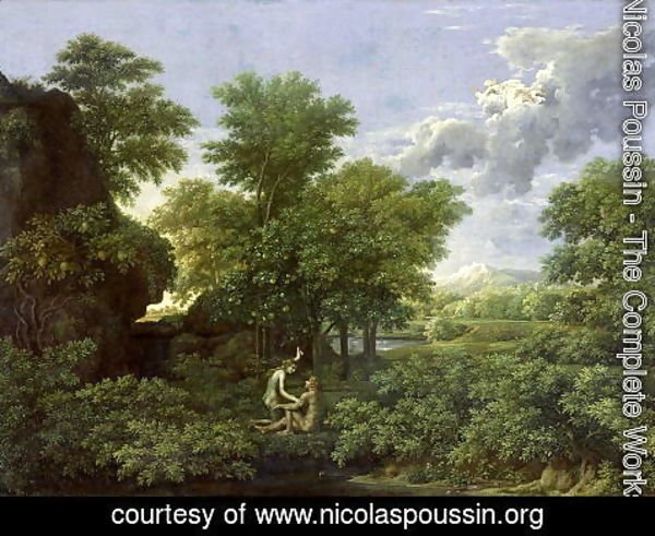 Nicolas Poussin - Spring, or The Garden of Eden