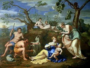 The Feeding of the Child Jupiter, c.1640