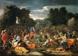 The Gathering of Manna, c.1637-9 2