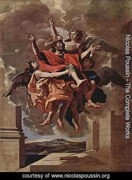 Nicolas Poussin - The Vision of St. Paul, 1649-50