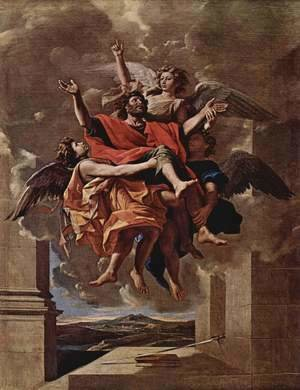 The Vision of St. Paul, 1649-50
