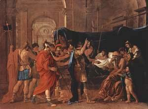 Nicolas Poussin - The Death of Germanicus, 1627