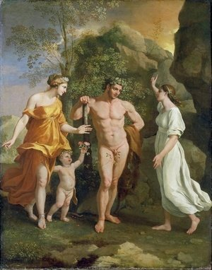 Nicolas Poussin - The Choice of Hercules