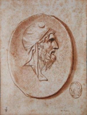 Nicolas Poussin - Head of Priam