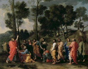 Nicolas Poussin - Ordination, c.1638-40
