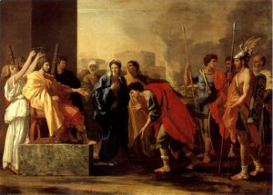 Nicolas Poussin - The Continence of Scipio, 1640