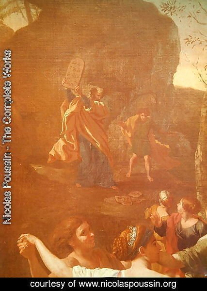 The Adoration of the Golden Calf, before 1634 3