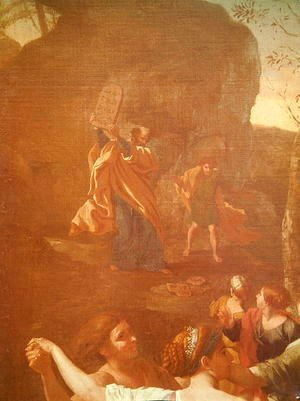 Nicolas Poussin - The Adoration of the Golden Calf, before 1634 3