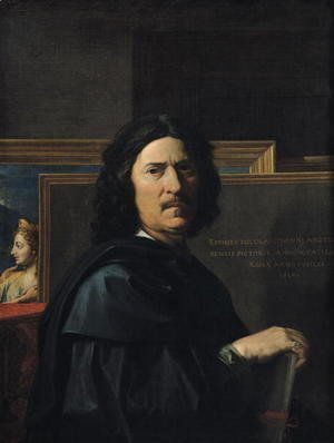 Nicolas Poussin - Portrait of the Artist, 1650
