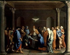 Nicolas Poussin - The Marriage of the Virgin, c.1638-40