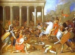 Nicolas Poussin - The Destruction of the Temple in Jerusalem