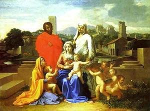 Nicolas Poussin - The Holy Family