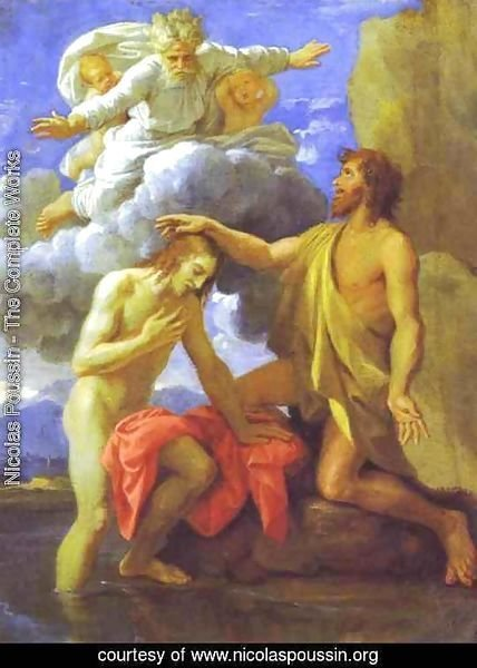 The Baptism of Christ. 1645.