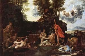 Nicolas Poussin - The birth of Baccus