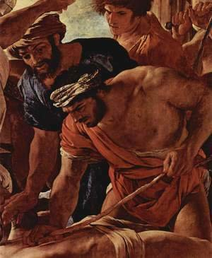 Nicolas Poussin - The Martyrdom of Saint Erasmus, detail